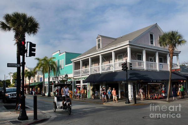 Photograph - Key West Buildings by Steven Spak
