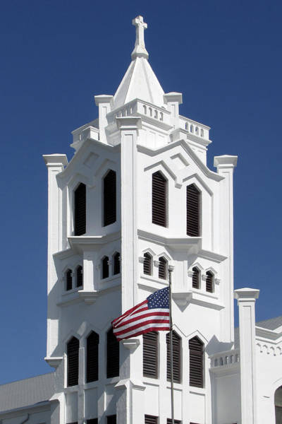 Photograph - Key West Church by Bob Slitzan