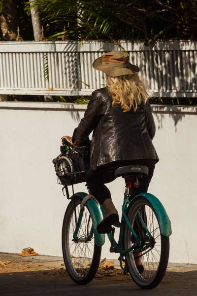 Photograph - Key West Commuter by Ed Gleichman