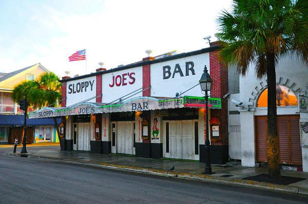 Photograph - Key West Florida - Sloppy Joe's Bar by Bill Cannon