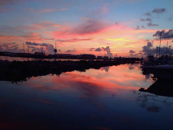 Blue Marlin Photograph - Key West Sunrise by Carey Chen