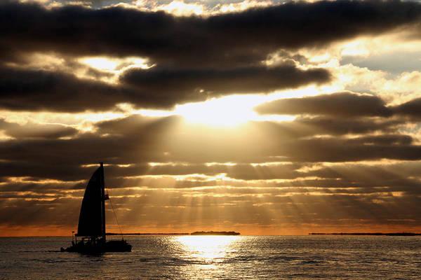 Photograph - Key West Sunset 8 by Bob Slitzan
