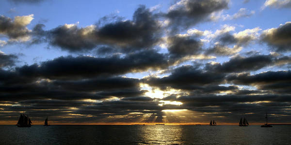 Photograph - Key West Sunset 9 by Bob Slitzan