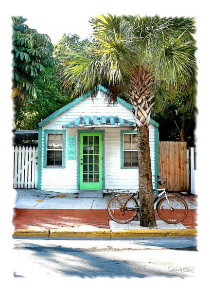 Keys House And Bike Art Print