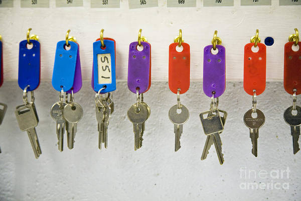 Photograph - Keys by Jim West