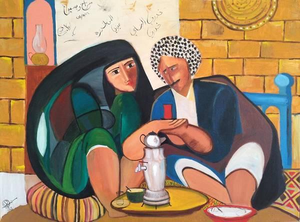 Baghdad Painting - Khadri El Chai Khadri  by Rami Besancon