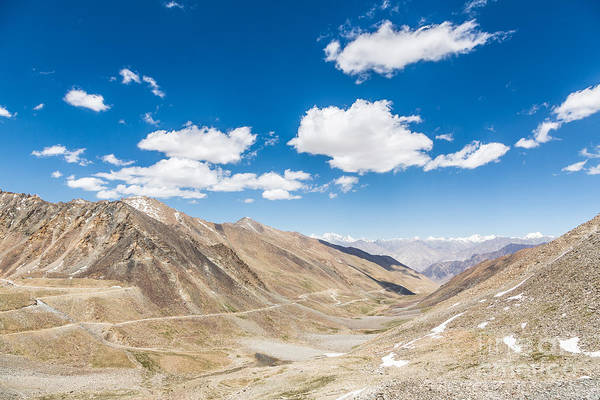 Photograph - Khardung La Pass Between Leh And The Nubra Valley by Didier Marti