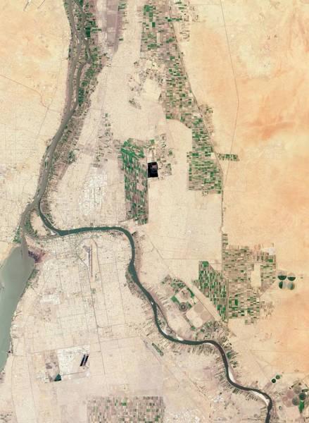 Earth Observation Wall Art - Photograph - Khartoum by Nasa Earth Observatory