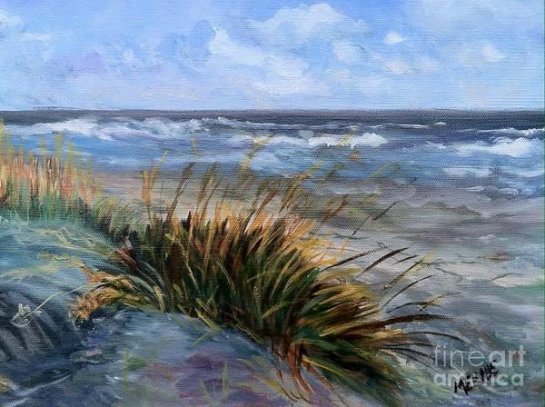 Sea Oats Painting - Kiawah Island by Melanie Bianculli