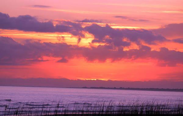 Kiawah Island Photograph - Kiawah Island Sunset 2 by Rosanne Jordan