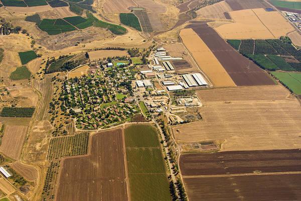 Kibbutz Photograph - Kibbutz Geva, Gilboa by Ofir Ben Tov