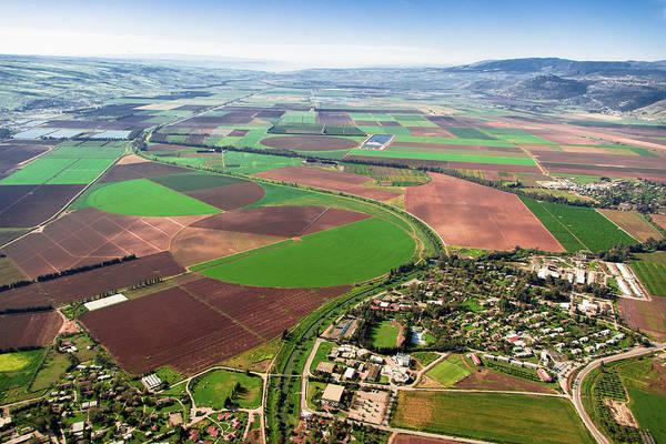 Kibbutz Photograph - Kibbutz Kfar Blum, Upper Galilee by Ofir Ben Tov
