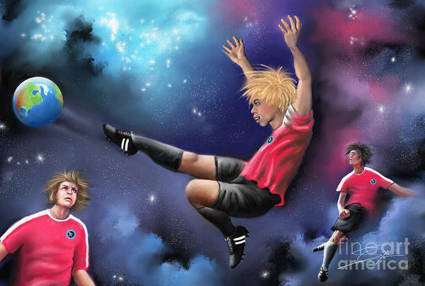 Painting - Kick Off by Artist ForYou