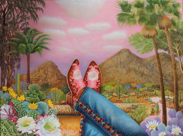 Painting - Kickin' Back At Camelback by William T Templeton