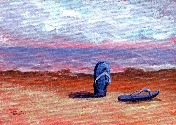 Painting - Kicking Back by Darice Machel McGuire