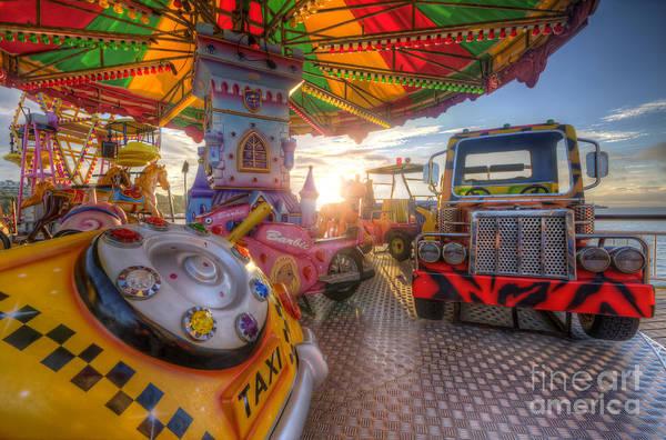 Photograph - Kiddie Rides by Yhun Suarez