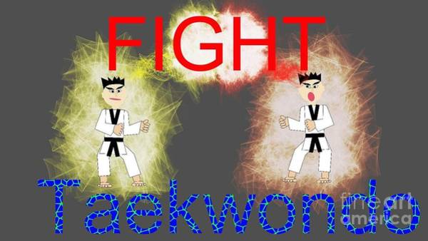 kid's TKD  Art Print