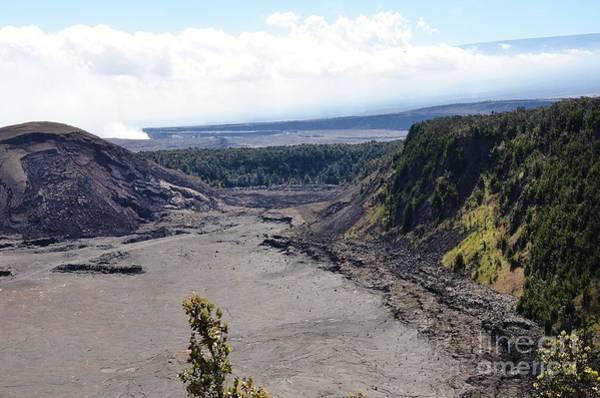 Ohau Wall Art - Photograph - Kilauea Lava River by Brenda Dorman