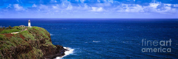 Photograph - Kilauea Lighthouse In Kauai by Les Palenik