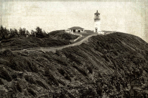Photograph - Kilauea Lighthouse Vintage Look And Feel by Photography  By Sai