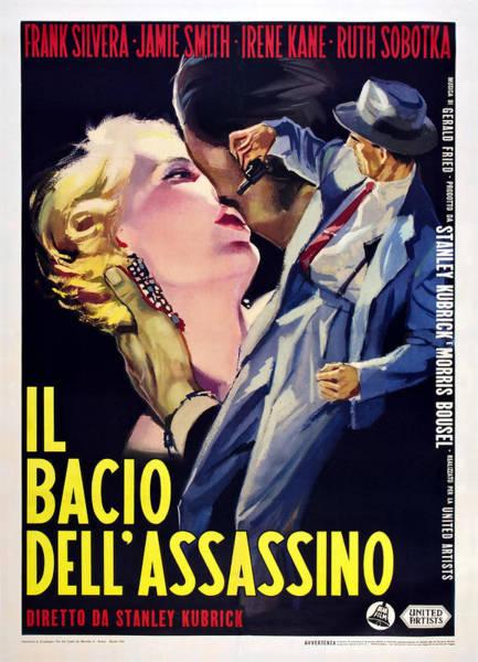 Wall Art - Photograph - Killers Kiss, Italian Poster, Irene by Everett