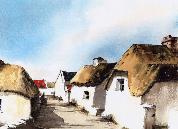 Painting - Kilmore Laneway Wexford by Val Byrne