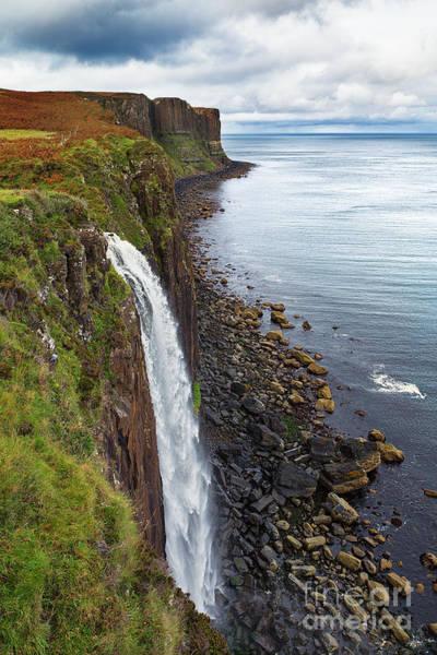 Wall Art - Photograph - Kilt Rock Waterfall by Jane Rix