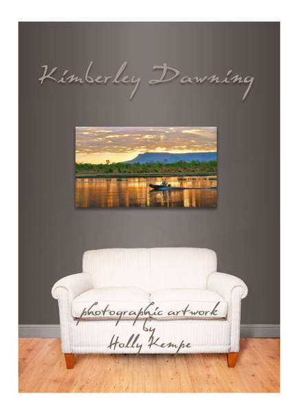Wall Art - Photograph - Kimberley Dawning Wall Art by Holly Kempe