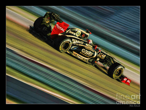 Photograph - Kimi Raikkonen  by Blake Richards