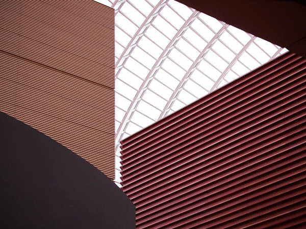 Photograph - Kimmel Center Geometry by Rona Black