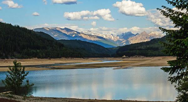 Photograph - Kinbasket Lake In Golden B C by Jordan Blackstone