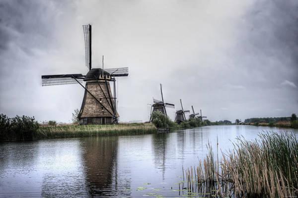 Photograph - Kinderdijk by Ryan Wyckoff