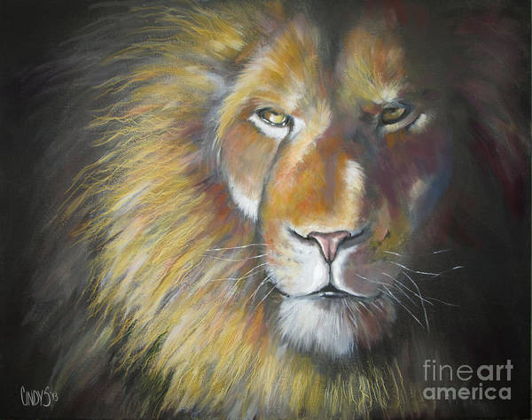 Wall Art - Painting - King by Tamer and Cindy Elsharouni