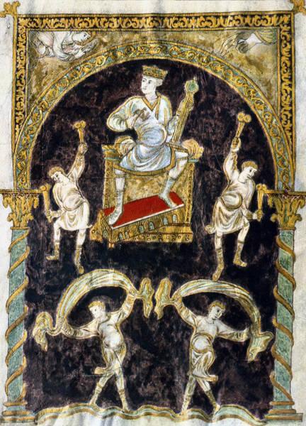 Painting - King David by Granger