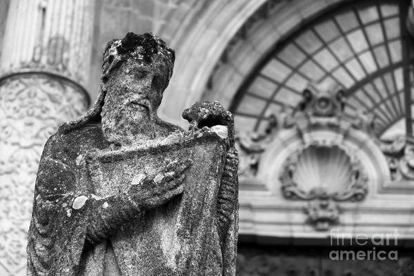 Photograph - King David Santiago De Compostela by James Brunker