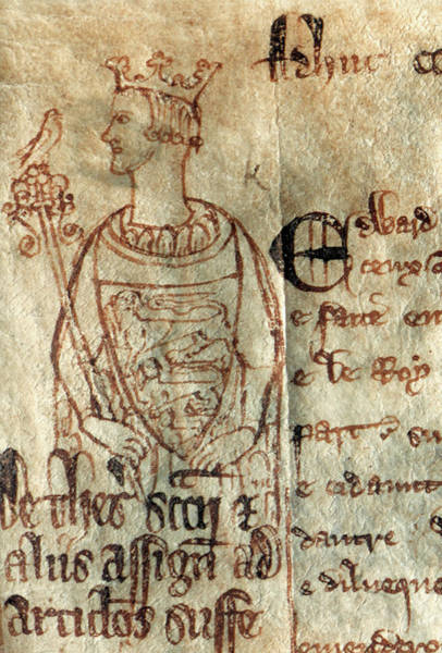 Drawing - King Edward I (1239-1307) by Granger