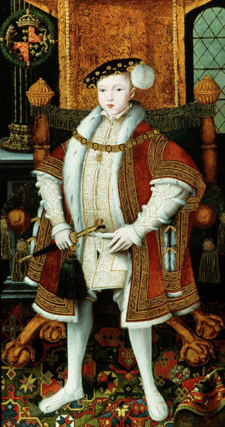 Wall Art - Painting - King Edward Vi Of England King by Granger