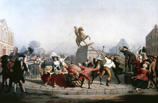 Photograph - King George IIi Statue, 1776 by Granger