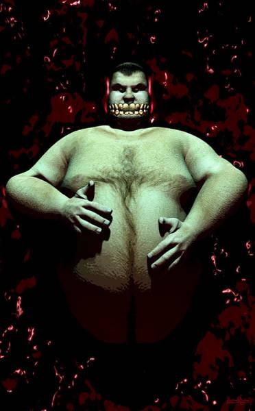 Digital Art - King Ghoul by Matt Lindley