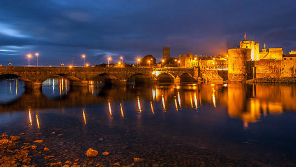 Photograph - King John's Castle Limerick City Ireland by Pierre Leclerc Photography