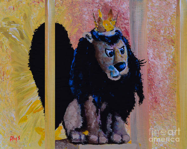 Television Painting - King Moonracer by Alys Caviness-Gober