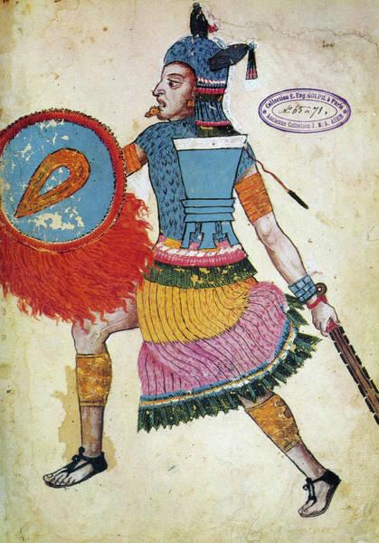 Wall Art - Painting - King Netzahualcoyotl (1408-1472) by Granger