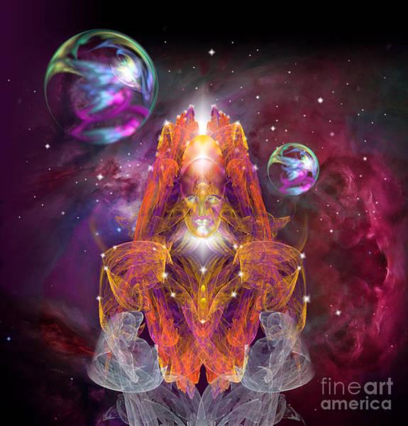 Digital Art - King Of Crystal Kingdom by Alexa Szlavics