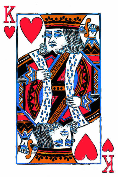 Wall Art - Photograph - King Of Hearts 20140301 by Wingsdomain Art and Photography