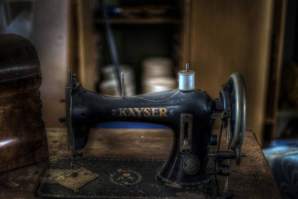Apparition Digital Art - King Of Sewing Machines by Nathan Wright