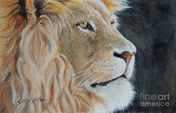 Painting - King Of The Forest.  Sold by Sandy Brindle