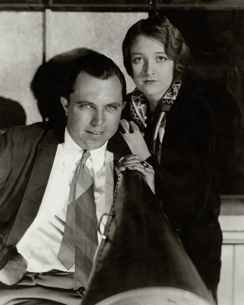 Husband Photograph - King Vidor With His Wife Eleanor Boardman by Edward Steichen