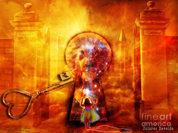 Heaven Digital Art - Kingdom Of Heaven by Dolores Develde