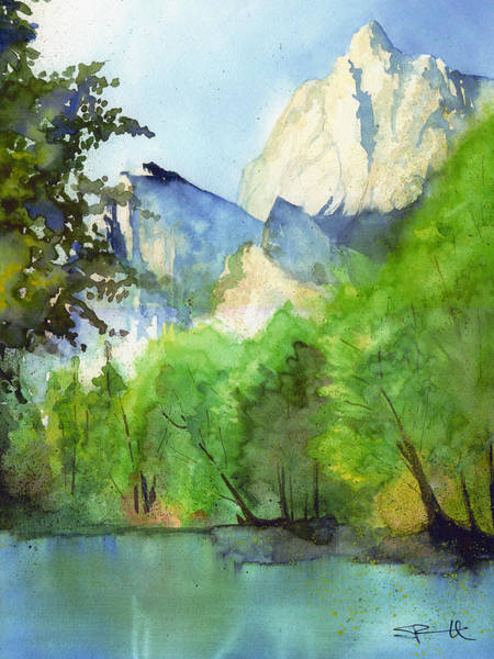 Painting - Kings Canyon by Sean Parnell