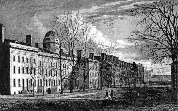 Photograph - King's College In New York by Underwood Archives